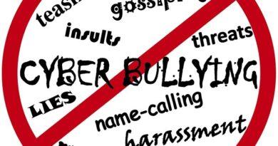 No-bullying word splash